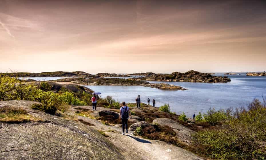Islands near Gothenburg, Sweden.