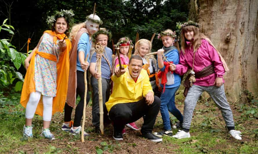 Game of Thrones actor Raleigh Ritchie launches the National Trust campaign to help children engage with the outdoors.