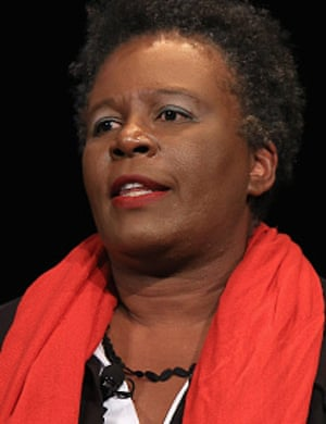The poet Claudia Rankine, whose book-length poem Citizen includes a section about Serena Williams.