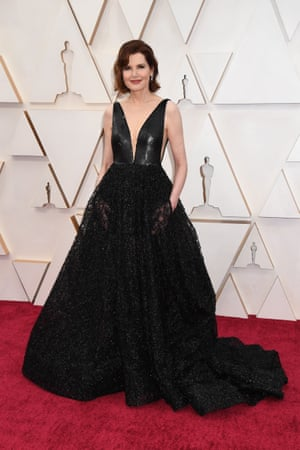 Geena Davis attends the 92nd Annual Academy Awards at Hollywood and Highland on February 09, 2020 in Hollywood, California.