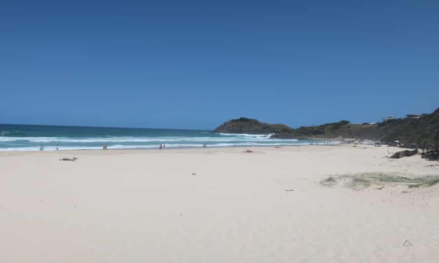 Cabarita beach, recently selected as Australia's best for 2020, has plenty of space even in high summer