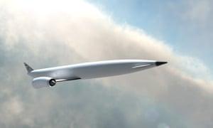 Reaction Engines' design concept for Skylon