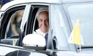 pope francis washington