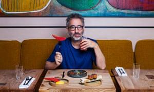 David Baddiel at Ikoyi, London SW1.