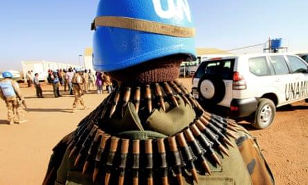 UN peacekeeping forces in Darfur