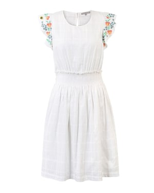 Embroidered linen, £75, oliverbonas.com
