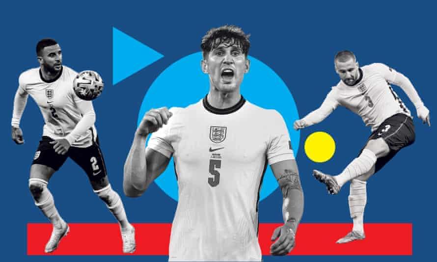 The rejuvenated Kyle Walker, John Stones and Kyle Walker have flourished in England's defence.