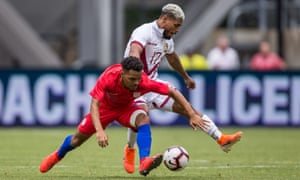 The US were dominated by Venezuela in their previous match