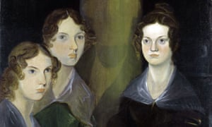 The Bronte sisters painted by their brother.