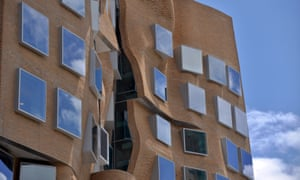 The new Frank Gehry-designed Chau Chak Wing Business School building at the University of Technology in Sydney