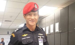 Saman Kunan, the former Thai navy Seal who died in the cave where the 12 boys and their soccer coach are trapped.