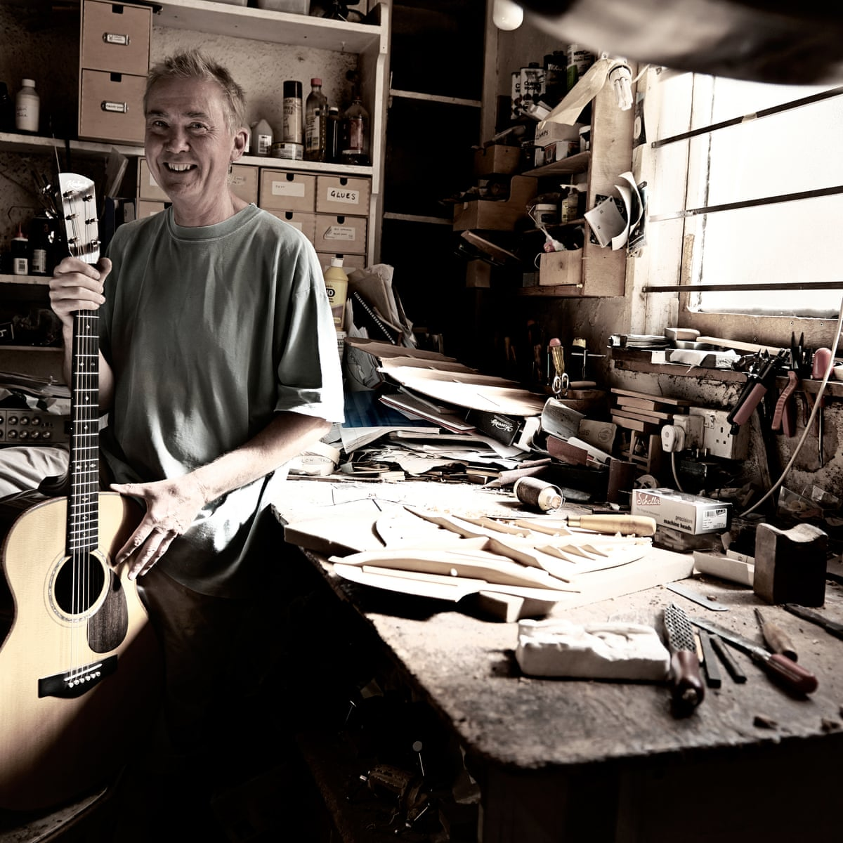 How do I become ... a guitar maker | Work & careers | The Guardian