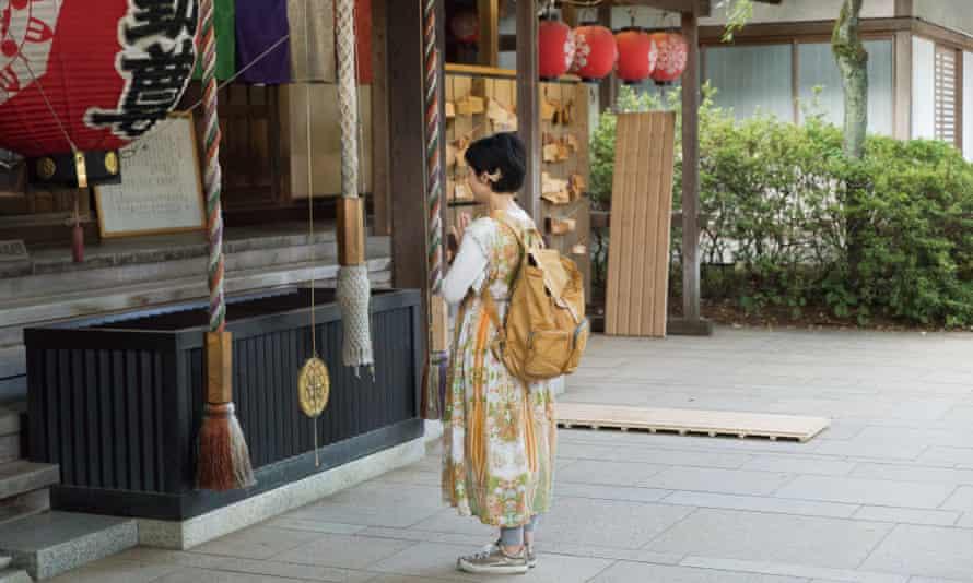 Manganji Temple Todoroki Fudoson, Tokyo, Japan