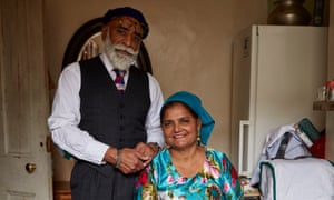 'Candid': Suresh Singh and his wife, Jagir, this year