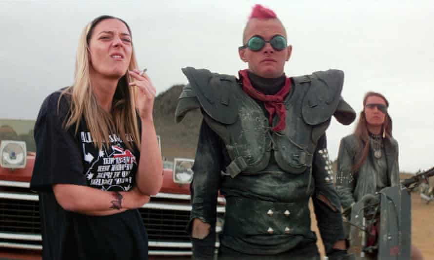 A still from the film Terror Nullius, by the Australian art duo Soda_Jerk, which premieres on Tuesday at Acmi
