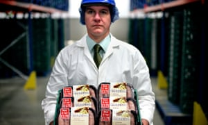 Sausage manufacturing at Cranswick in Kingston upon Hull