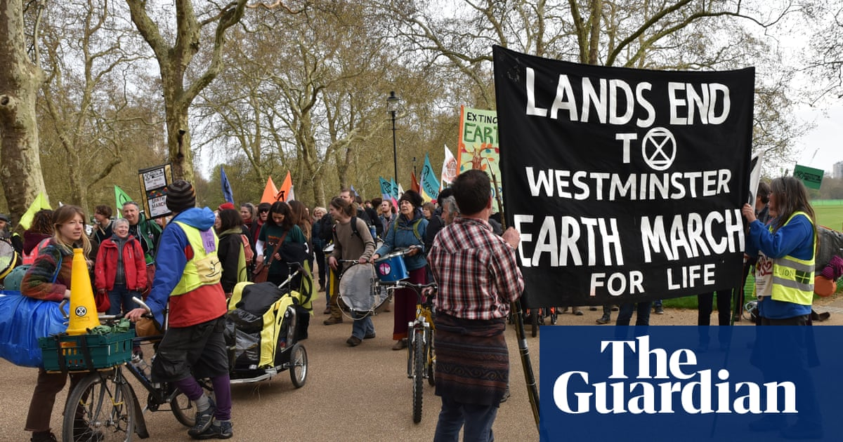 Thousands expected in London for Extinction Rebellion protest