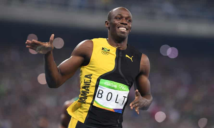 Jaw-droppingly elemental … Usain Bolt is the subject of a new documentary I Am Bolt.