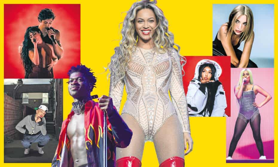 Shawn Mendes and Camila Cabelo, Beyoncé, Dua Lipa, Mabel, Kamille, Lil Nas X and Dappy