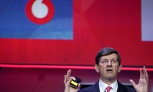 Vodafone's chief executive, Vittorio Colao