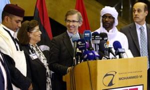 Bernardino Léon UN peace envoy announces national government for Libya