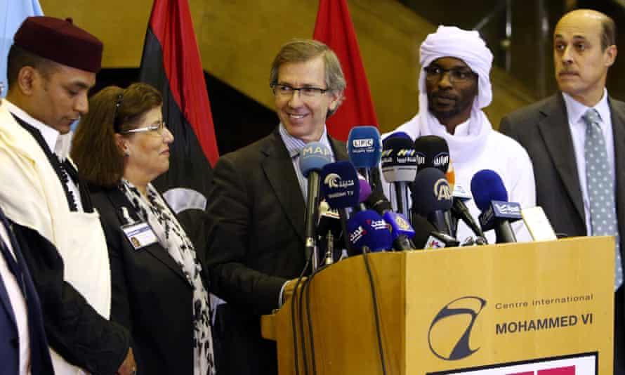 UN envoy for Libya Bernardino Leon