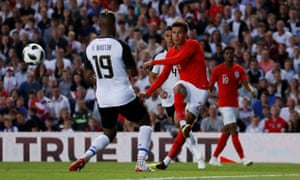 Dele Alli in action for England against Costa Rica in their final World Cup warm-up match