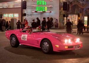 A Barbie car