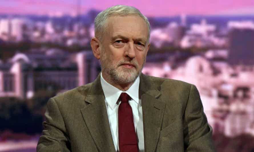'Refreshingly straightforward': Jeremy Corbyn on the Andrew Marr Show.