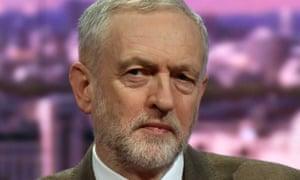 Photograph of Jeremy Corbyn