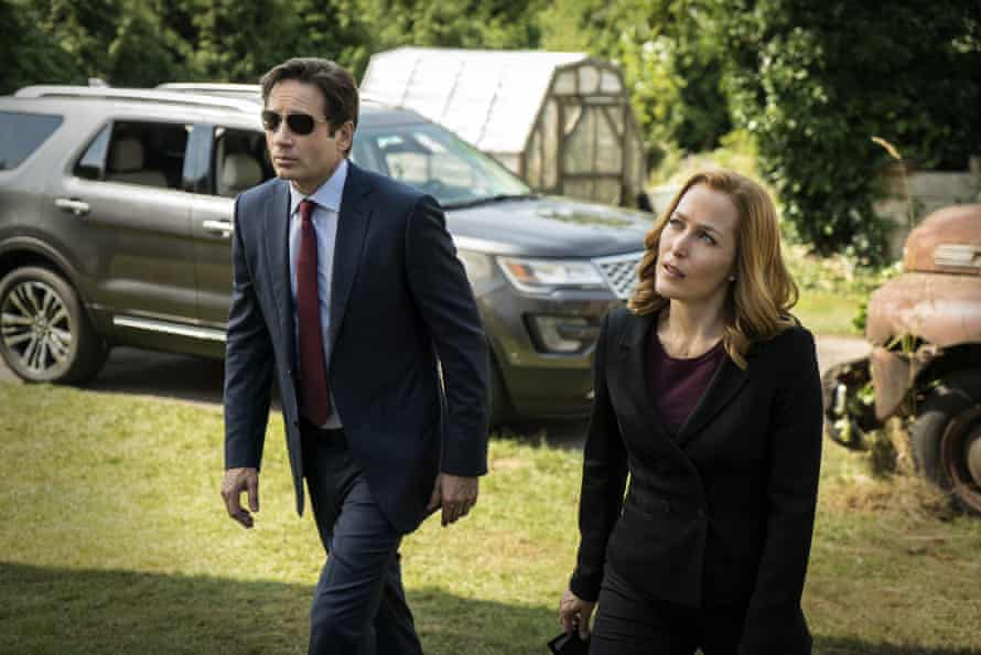 Mulder and Scully in 2016.