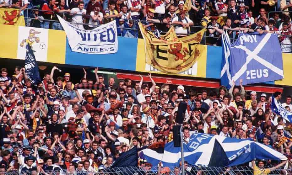 Scotland fans at Euro 92.