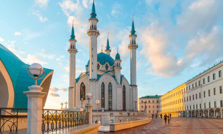The Qol Sharif mosque in Kazan.