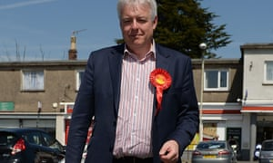 Carwyn Jones before casting his vote in the Welsh assembly elections