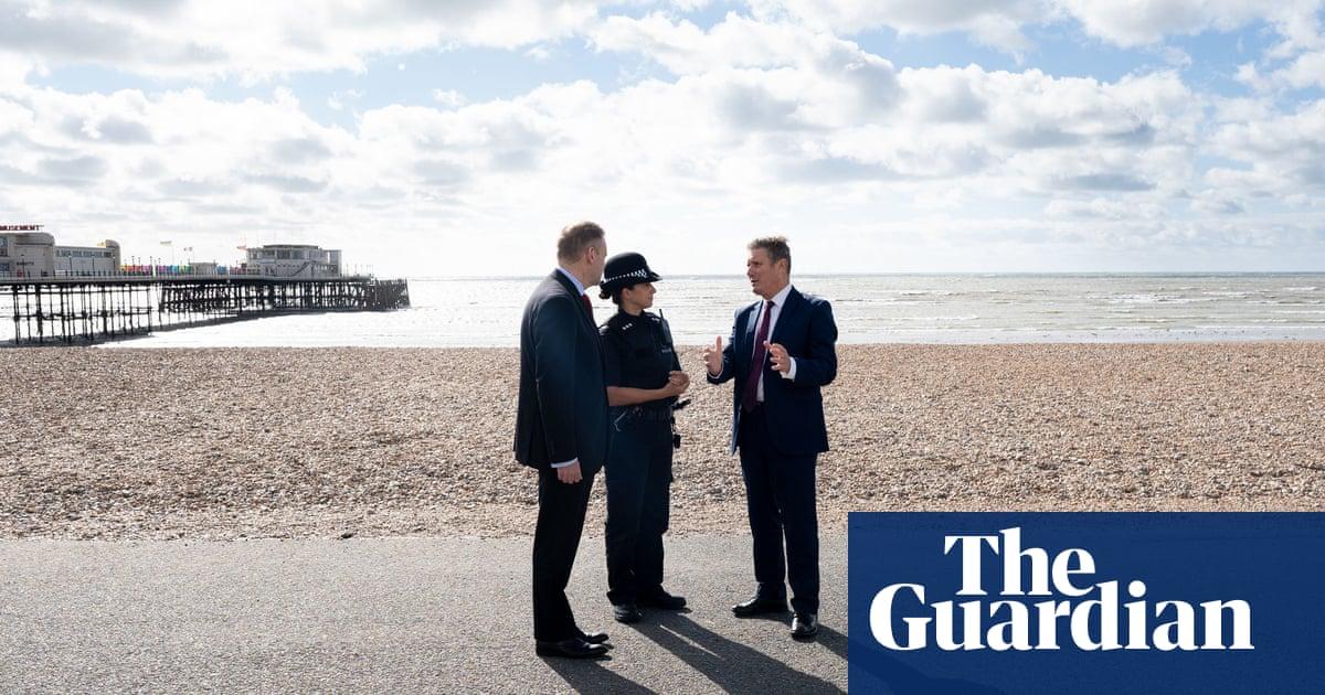 Labour evokes Blair's 'tough on crime' slogan in bid to take on Tories
