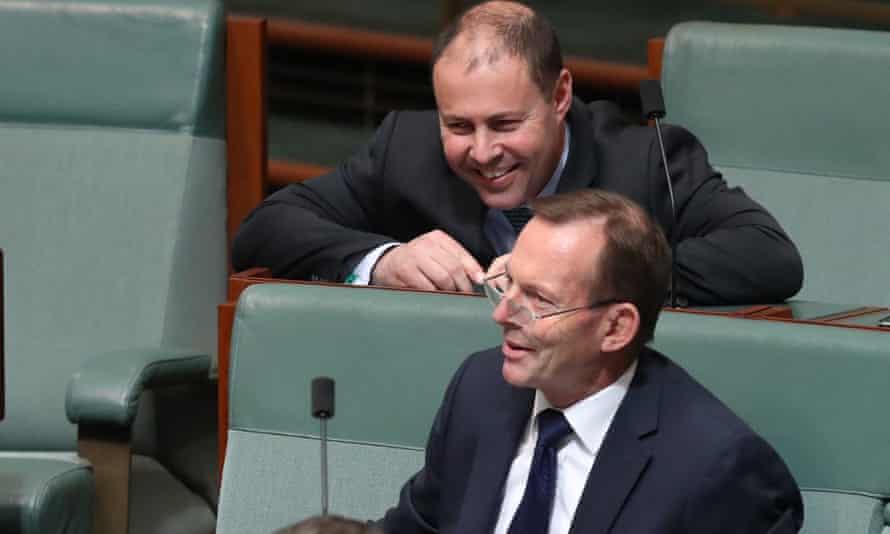 Josh Frydenberg and Tony Abbott