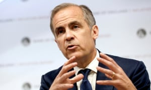 The Bank of England governor, Mark Carney, warns trillions of pounds could be at risk if banks are not adequately protected.
