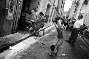Often, large families in St Jacques live in small apartments as is hard to find new housing in this area. On hot summer days, most of the social life – and sometimes even meals – happens in the streets.