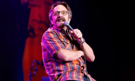 'I don't need to throw someone under the bus or reveal things about my relationship with somebody' ... Marc Maron.