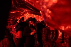 A costume ball at Dark Mofo
