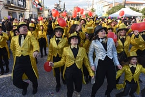 Dancers during the parade