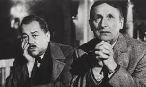 Francis Blanche and Bourvil in Un Drôle de Paroissien (Heaven Sent, 1963), Jean-Pierre Mocky's first attack on religious hypocrisy.
