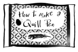 00 make a quill pen00 make a quill pen