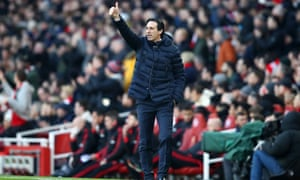 Unai Emery: 'We must be calm, be patient and continue improving. Controlling emotion is very important. Keeping this consistency in our mind is very important.'