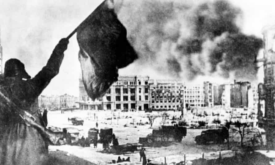 The Soviets regain control of Stalingrad in February 1943.