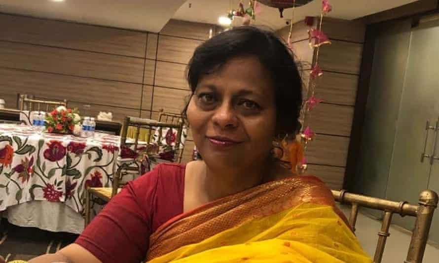 Indian journalist Kakoli Bhattacharya.