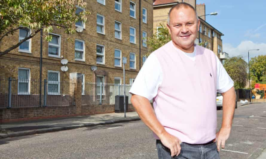 Eastender Tony, who dreamed of becoming a jockey but ended up a cab driver, and who has now moved to Essex.