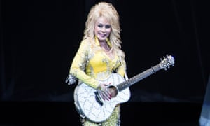 Dolly Parton in concert at the PNC Bank Arts Center, New Jersey, in June.