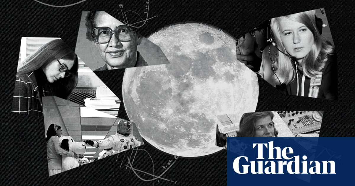 Without these women, man would not have walked on the moon