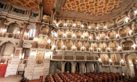 Teatro Scientifico del Bibiena, Mantua.
